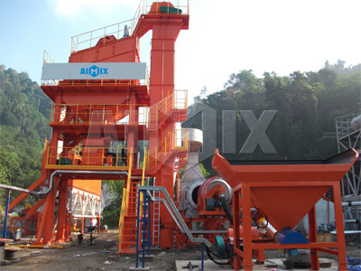 100 tph Stationary asphalt mixing plant
