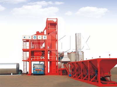 120 tph Stationary asphalt mixing plant
