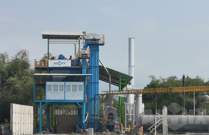Asphalt Mixing Plant in Indoneisa