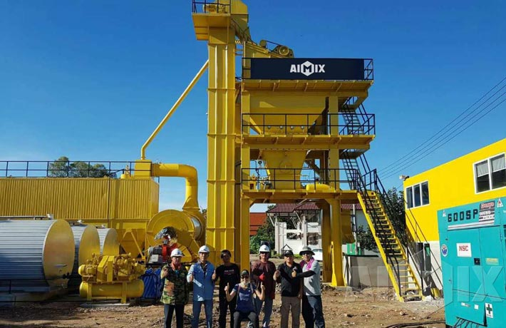 Asphalt Mixing Plant in Thailand